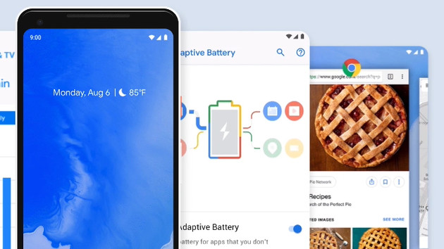 Smartphone-Betriebssystem: Android-Pie-Updates von HTC, Motorola, Nokia und Sony