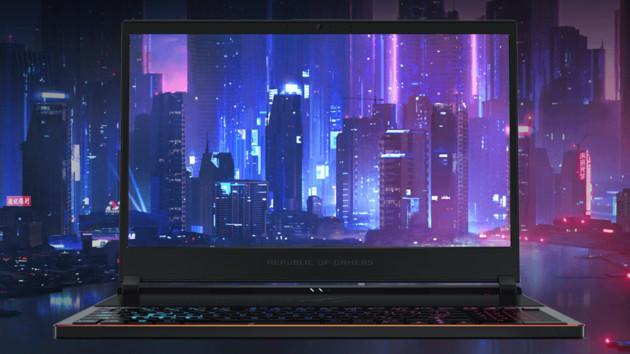 """Asus Zephyrus S: Das dünnste Notebook mit 15,6"""" und GeForce GTX 1070"""