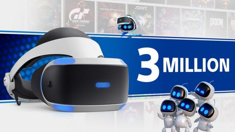 Sony: PSVR wurde über 3 Millionen Mal verkauft