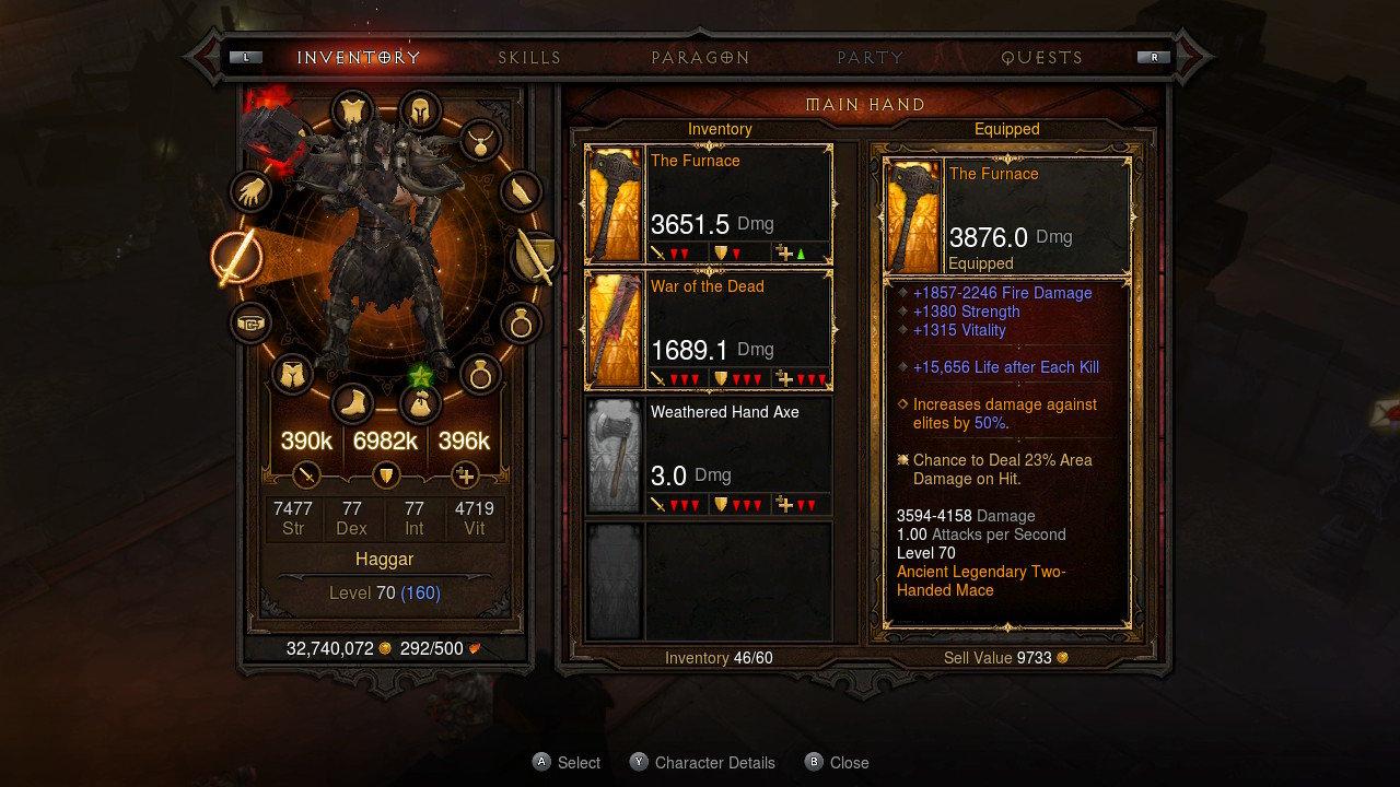 Diablo 3 für Nintendo Switch (Offizielle Screenshots)