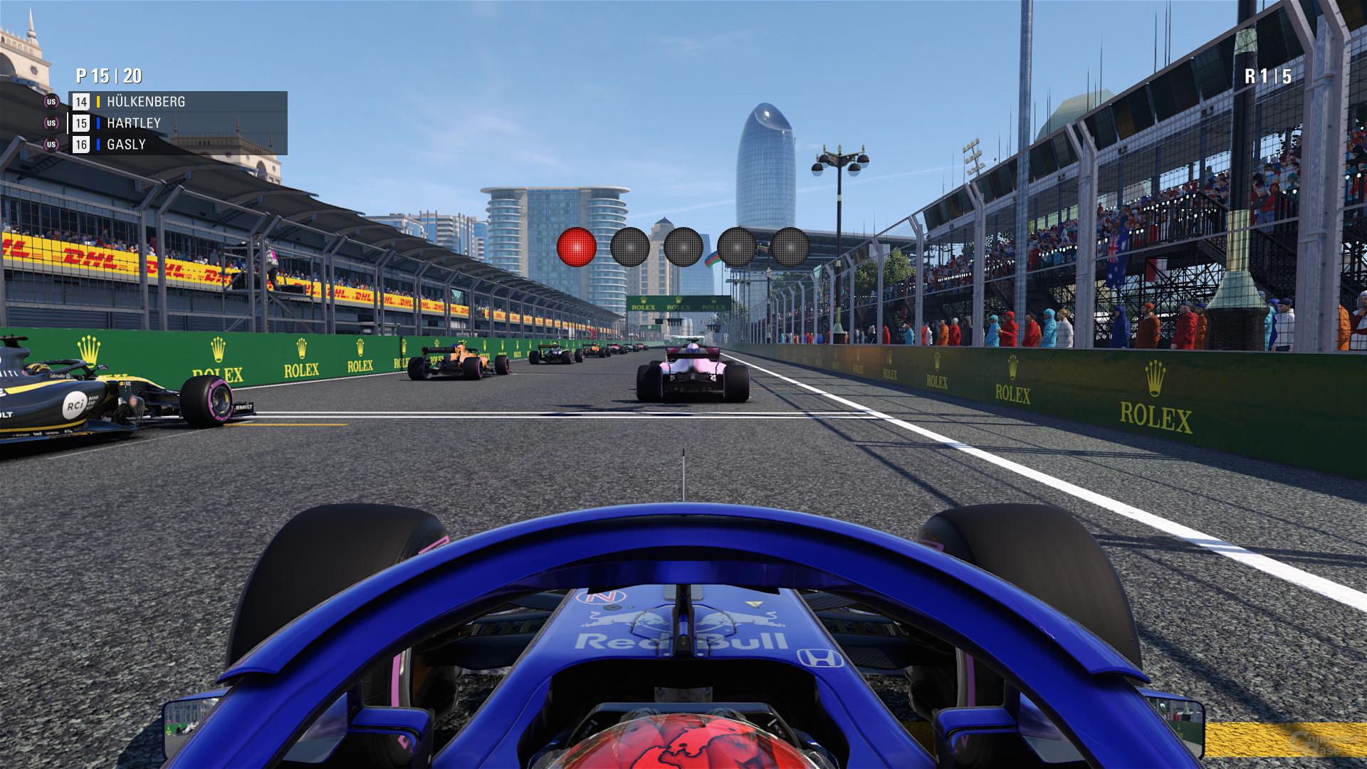 F1 2018 – Ultrahoch-Preset