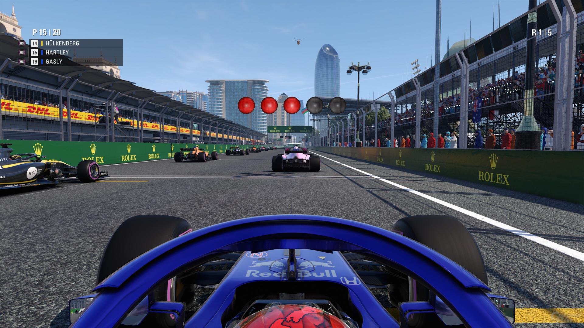 F1 2018 – Umgebungsverdeckung Ein
