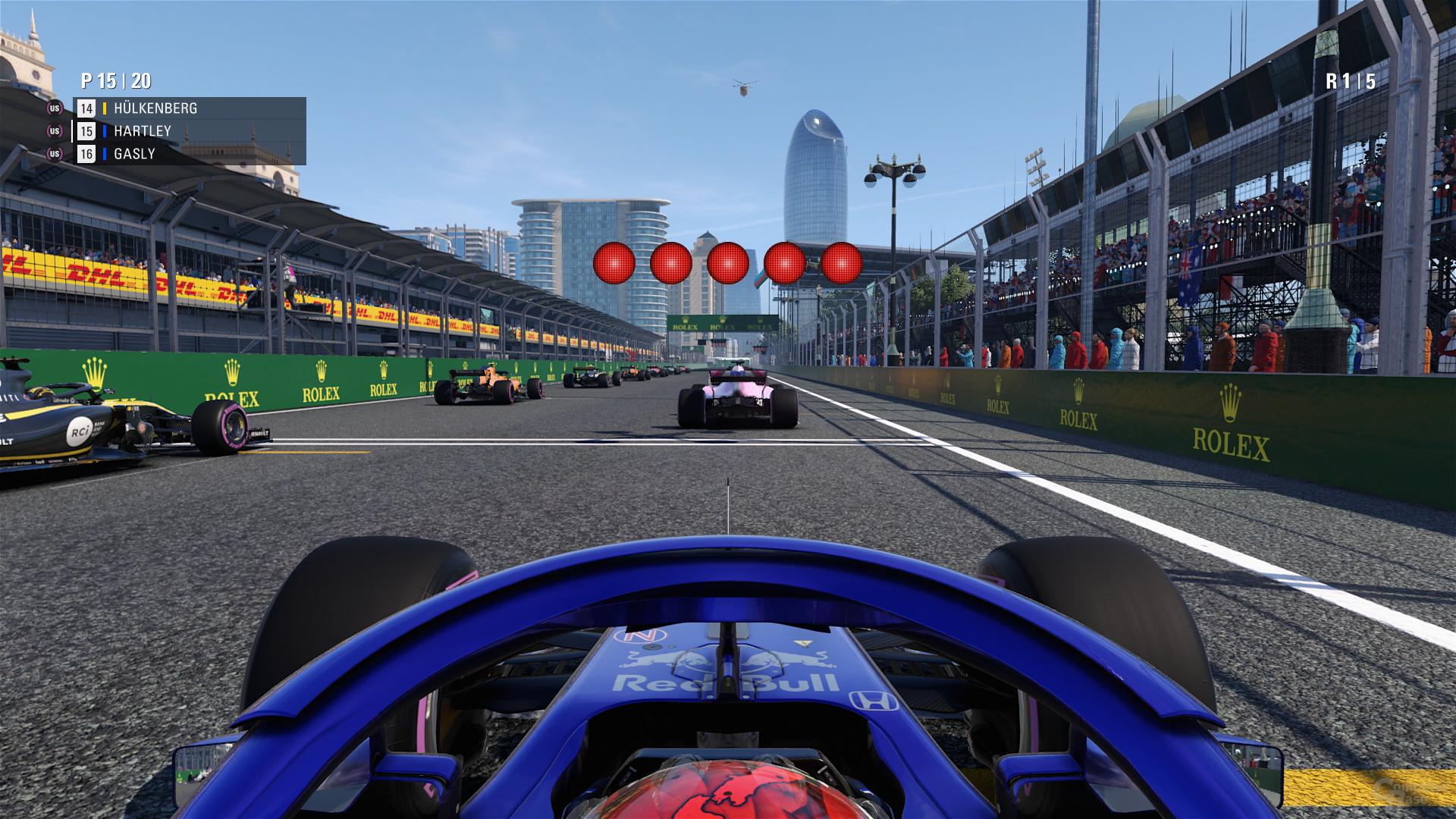 F1 2018 – HBAO+