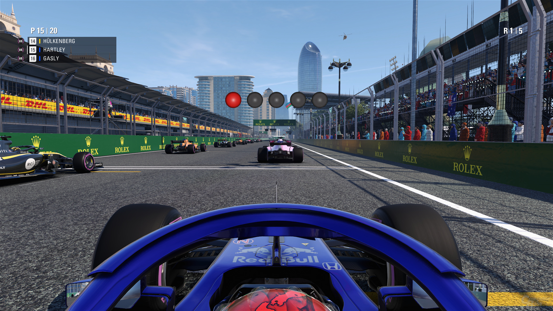 F1 2018 – Mittel-Preset