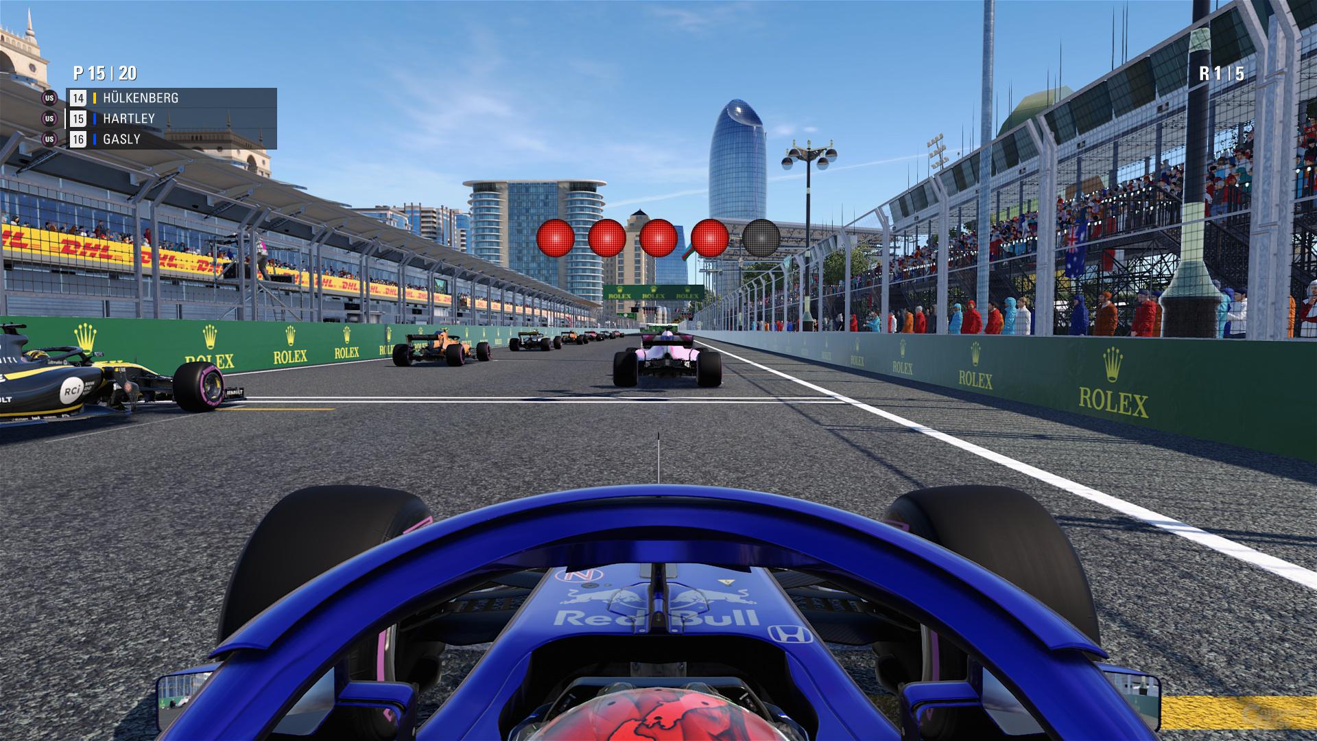 F1 2018 – Niedrig-Preset