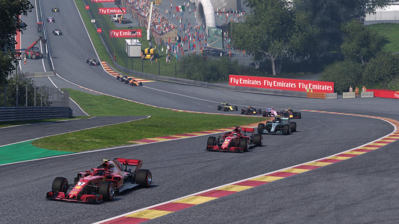 F1 2018 im Benchmark: Ein leichtes Upgrade eines guten Vorgängers