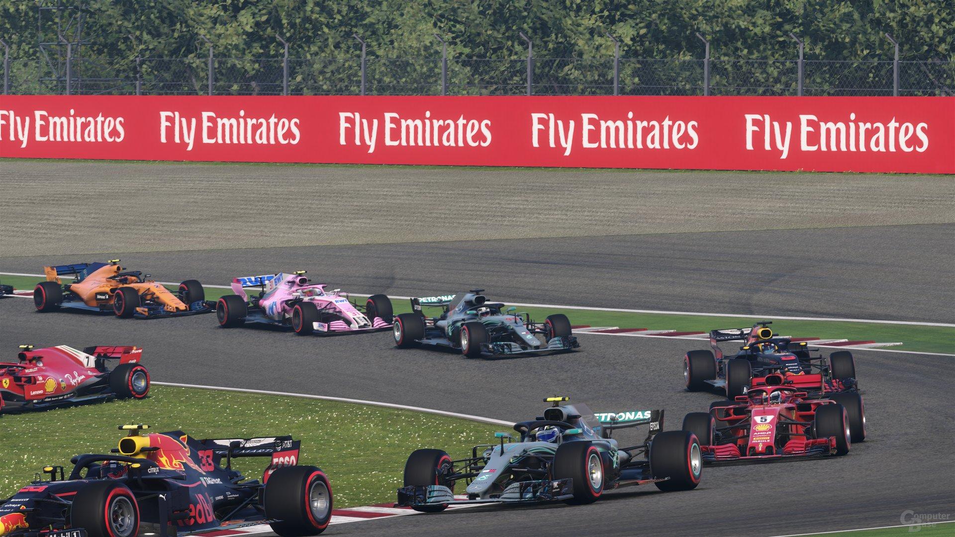 F1 2018 im Technik-Test