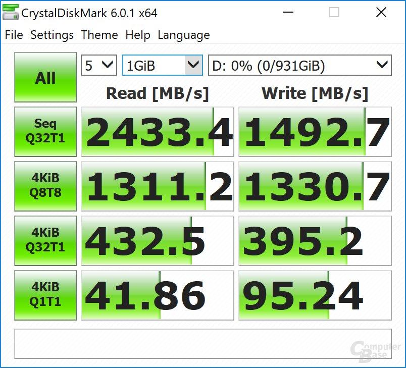 Samsung Portable SSD X5 CDM (leer)