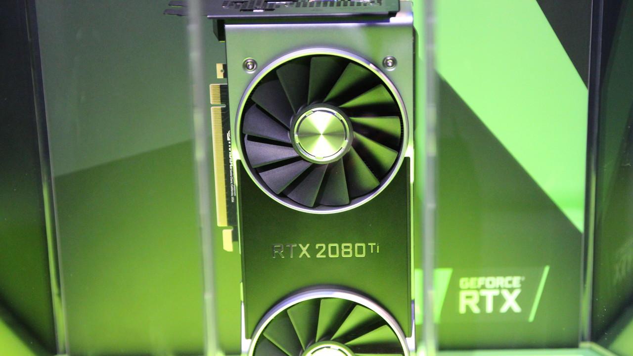 Turing für Spieler: Nvidia enthüllt GeForce RTX 2070, 2080 und 2080 Ti