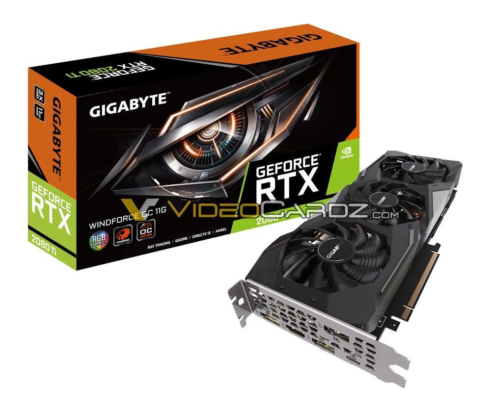 Gigabyte GeForce GTX 2080 Ti WindForce OC