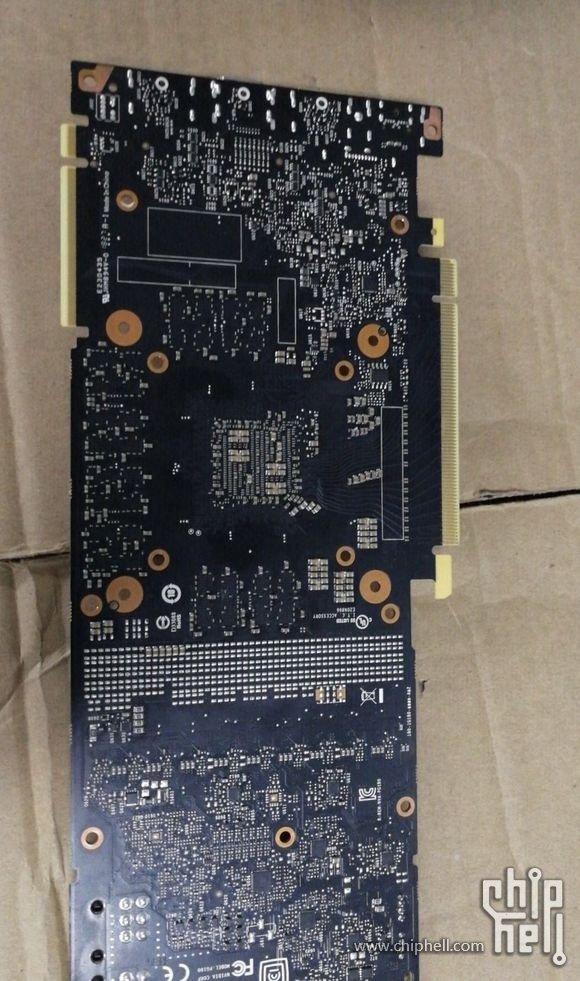 Rückseite des Referenzdesigns (der RTX 2080?)