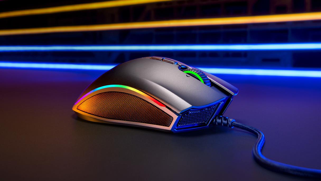Razer Mamba Elite: Maus-Neuauflage mit der Extraportion RGB-LED