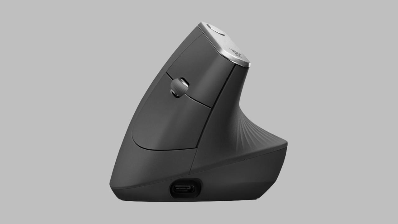 Logitech MX Vertical: Ergonomisch aufgestellte Maus für entspannte Muskeln