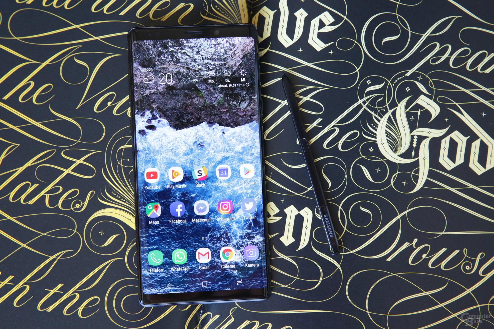 Samsung Galaxy Note 9 im Test