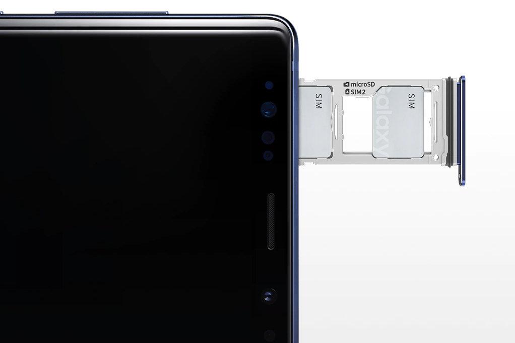 Hybrid-Schacht für Dual-SIM oder microSD-Karte