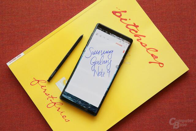 Galaxy Note 9 mit etwas kantigerem Design