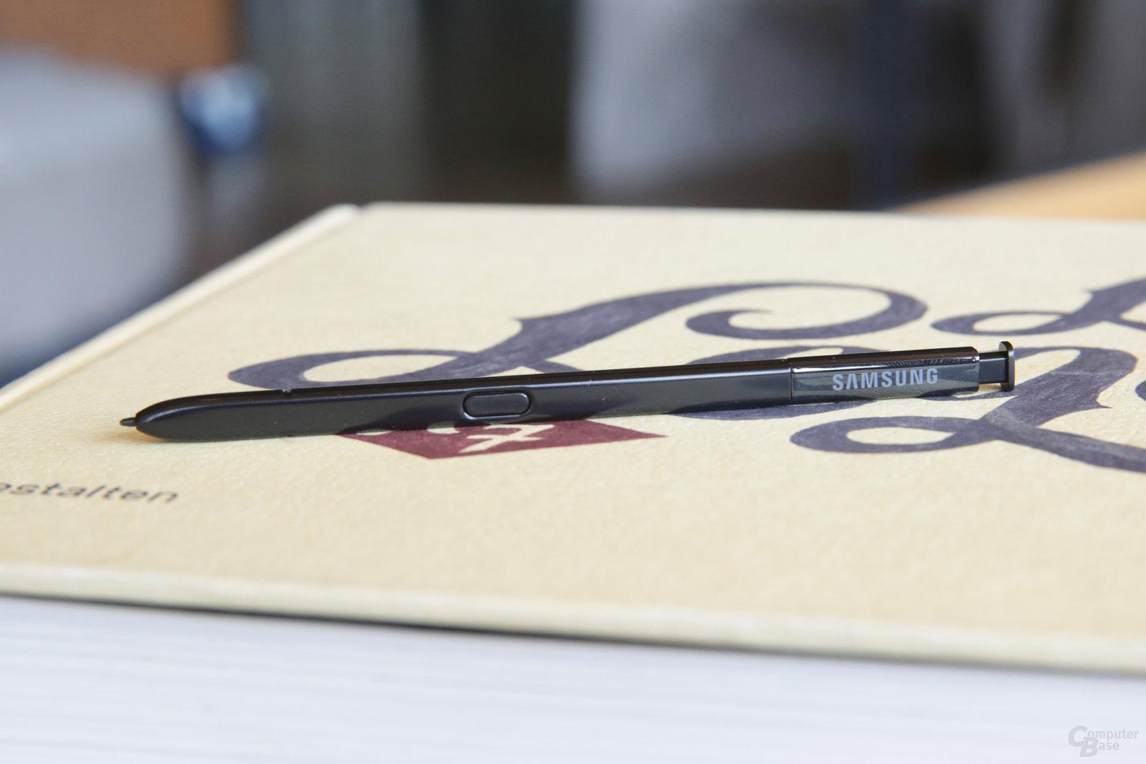 Der neue S Pen kommt mit Bluetooth und Superkondensator
