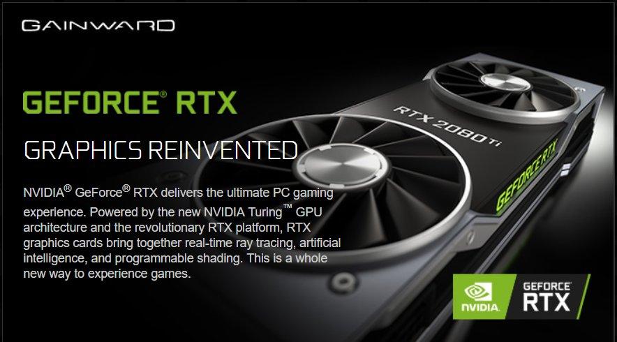 Gainward bestätigt Dual-Fan-Design der RTX 2080 Ti Founders Edition