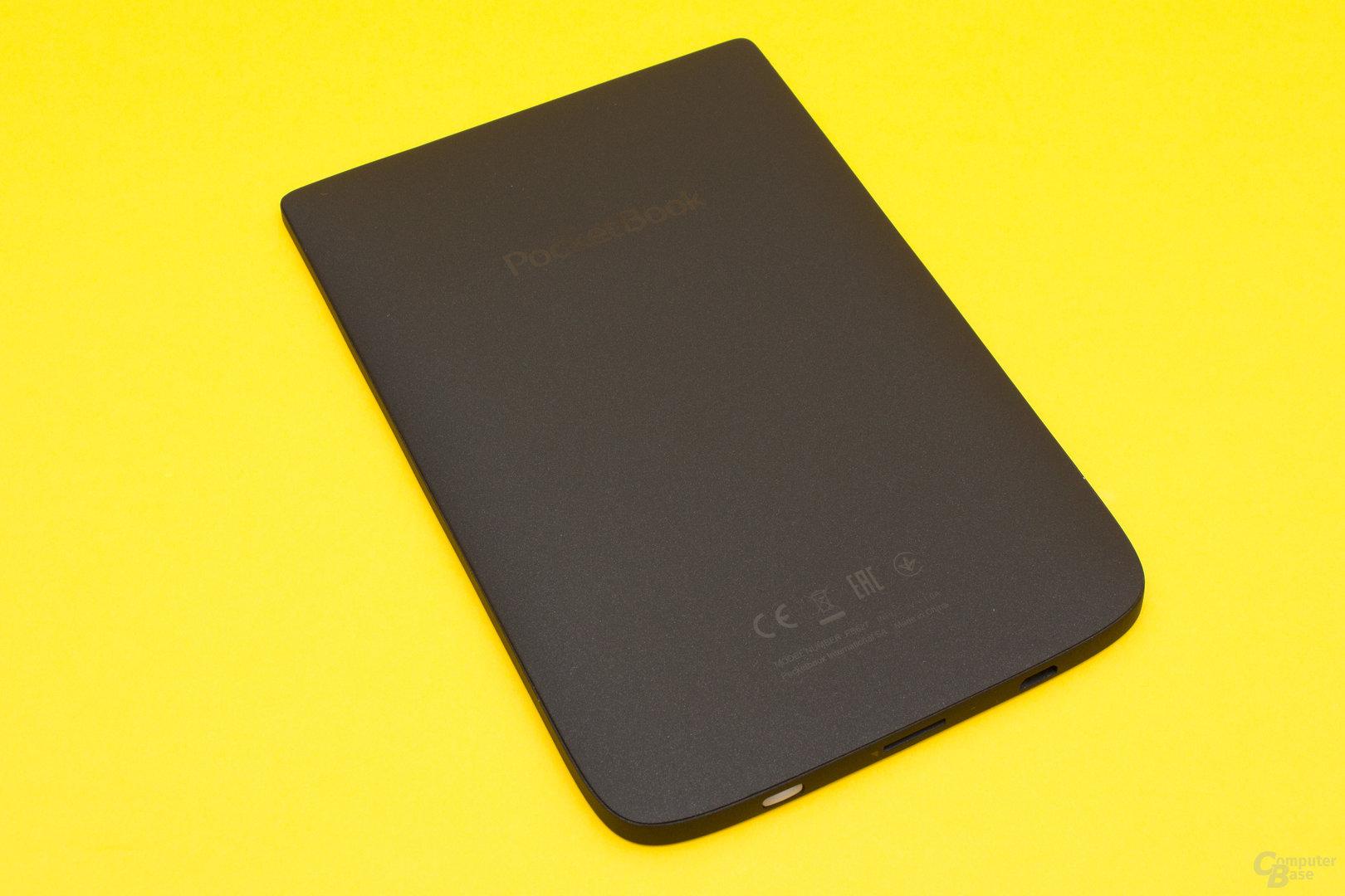 Auch beim Touch Lux 4 sorgt die gummierte Rückseite für guten Halt