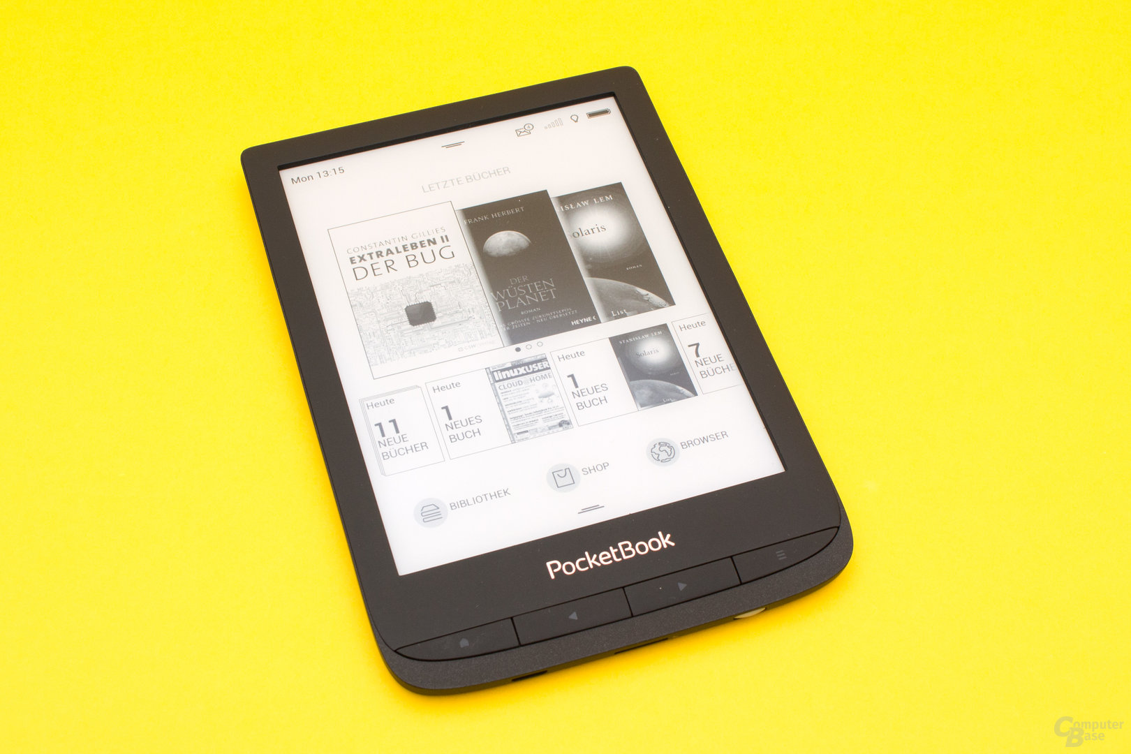 Der neue PocketBook Touch Lux 4