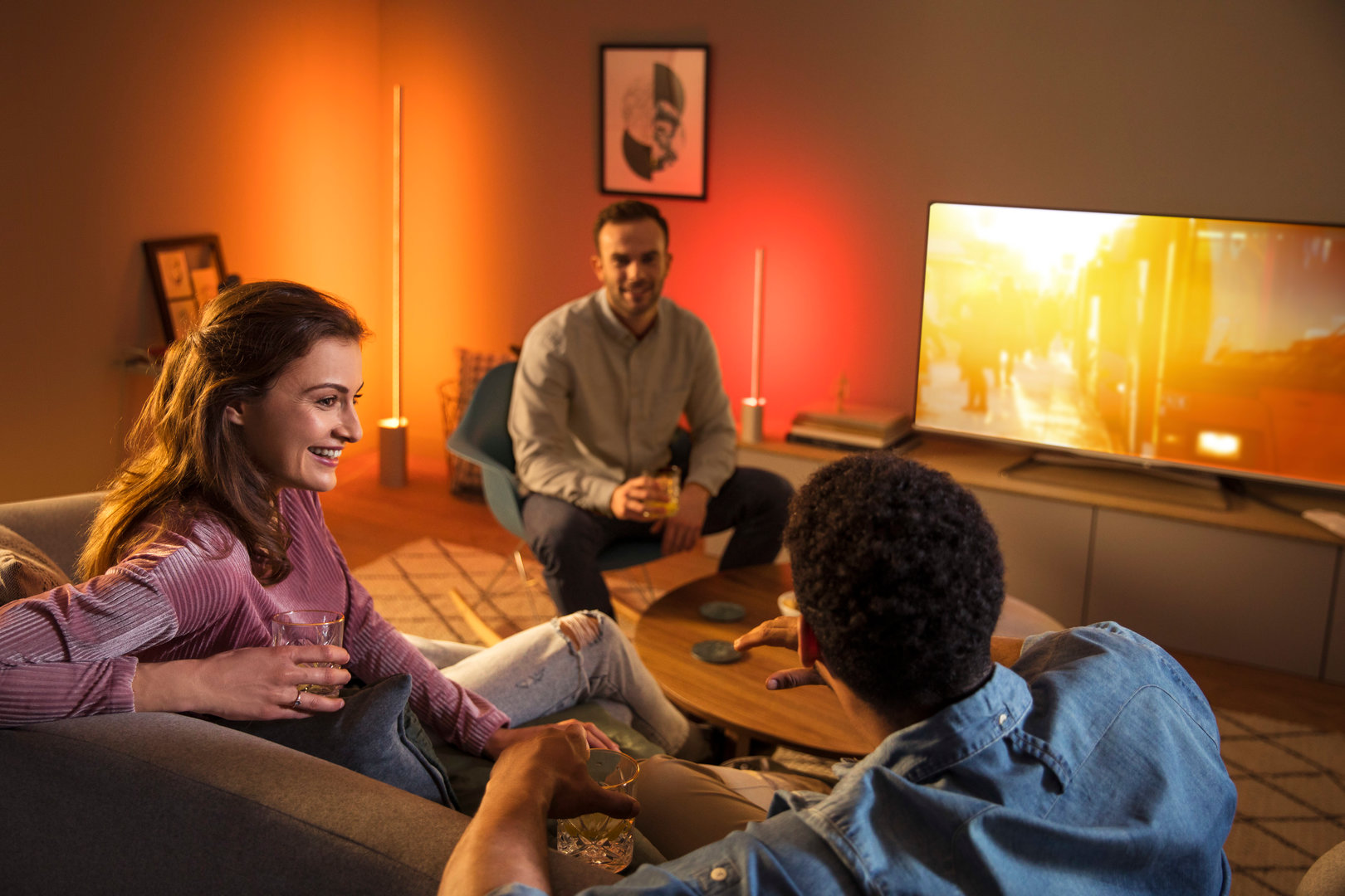 Philips Hue Play und Signe