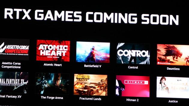 Nvidia RTX-Plattform: 21 Spiele sollen Raytracing und DLSS unterstützen