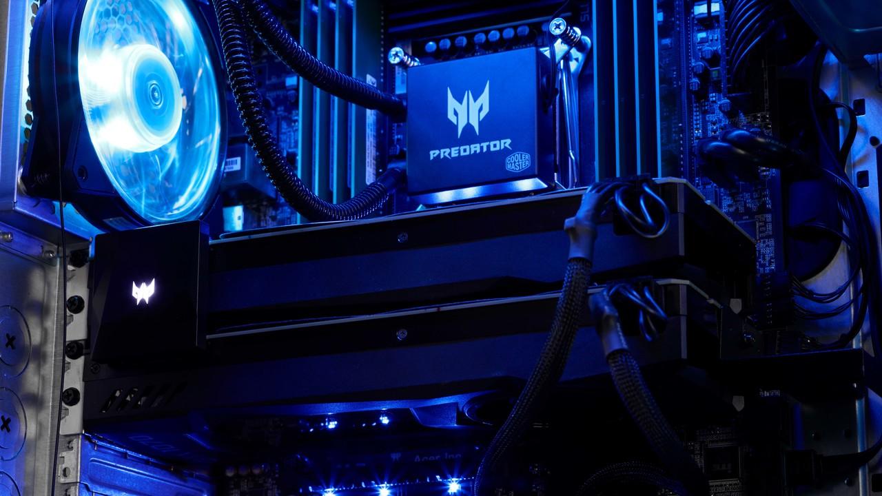 Acer Predator Orion: Modellpflege mit Nvidia GeForce RTX 2000