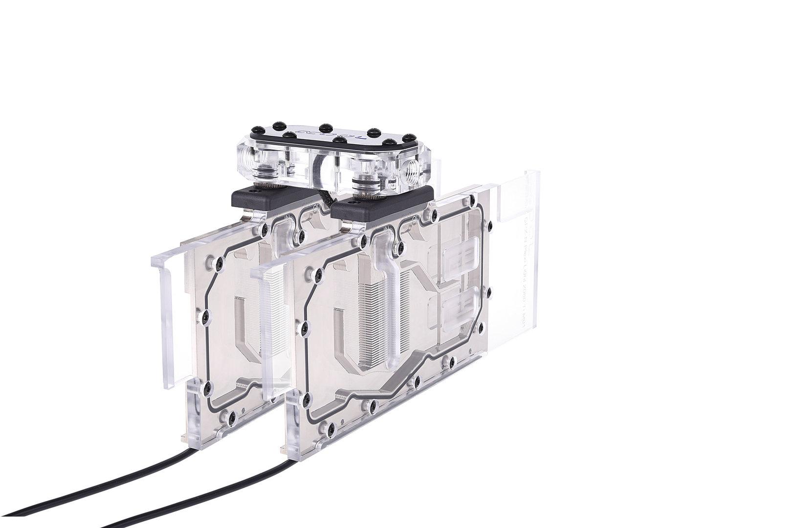 Alphacool Eisblock GPX Plexi Light: SLI-Verbinder