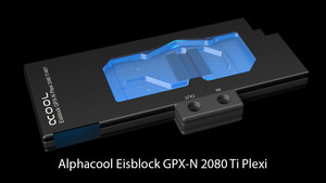 Alphacool Eisblock 2080 Ti: Wasserkühler für die Nvidia RTX 2080 Ti