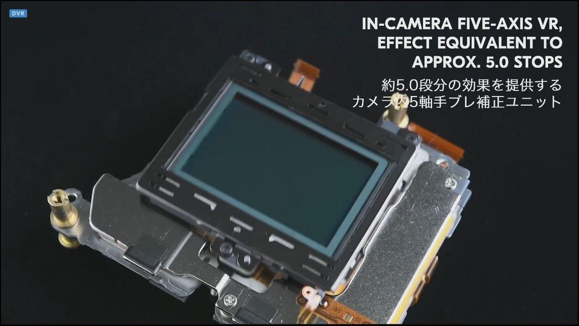 Nikon Z: 5-Achsen-Bildstabilisator