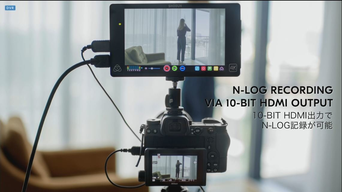 Nikon Z: Videofunktion mit 10-bit-Ausgabe