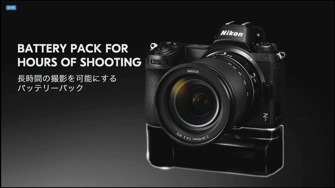 Nikon Z: Batteriegriff