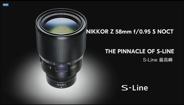 Nikkor Z 58 mm 0.95
