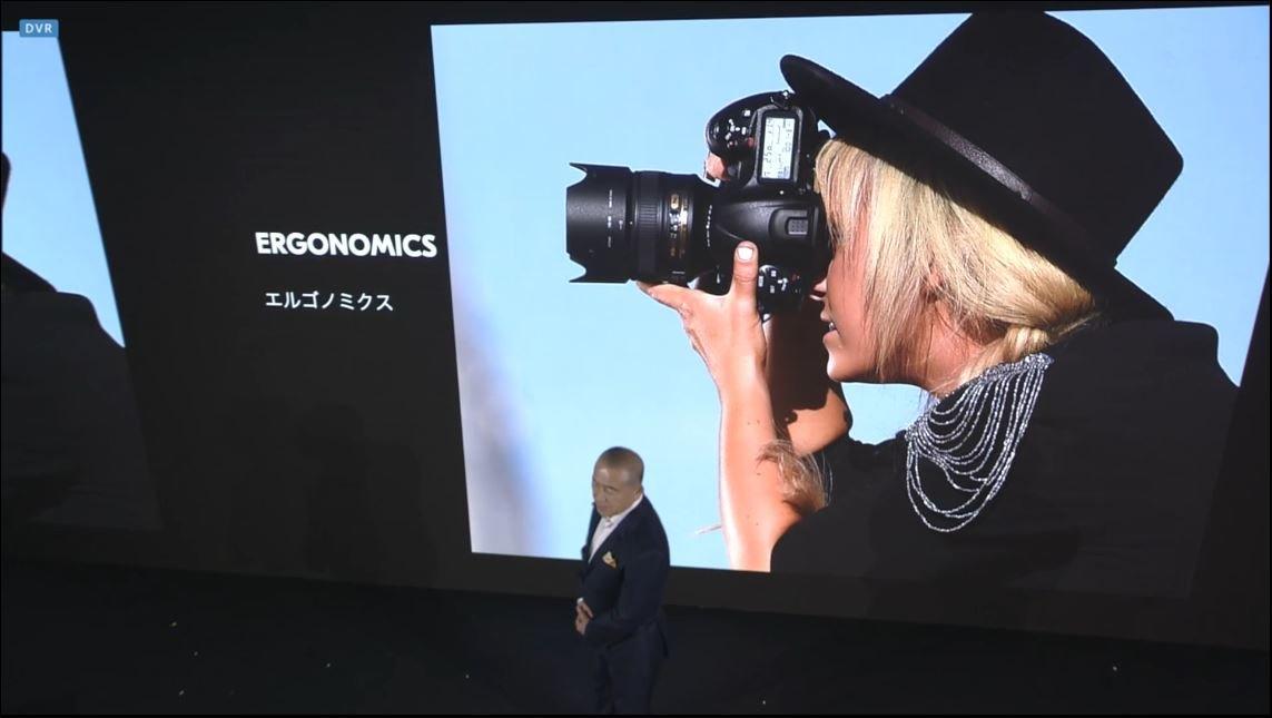 Nikon Quality: Ergonomie