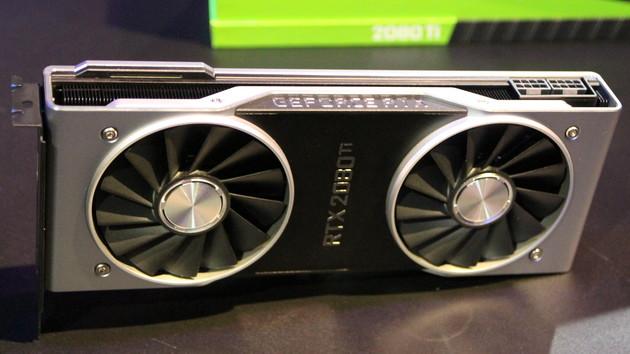 Nvidia Turing: GeForce RTX 2080 laut Nvidia ~50 % schneller als GTX 1080