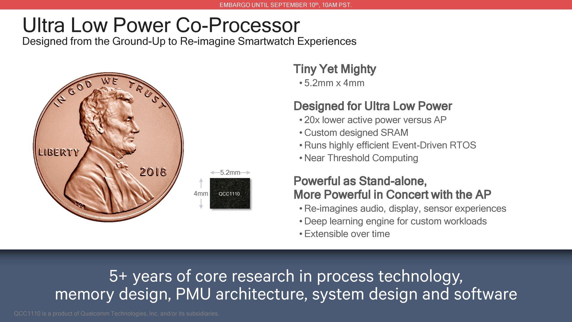 Co-Prozessor QCC1110 im Detail