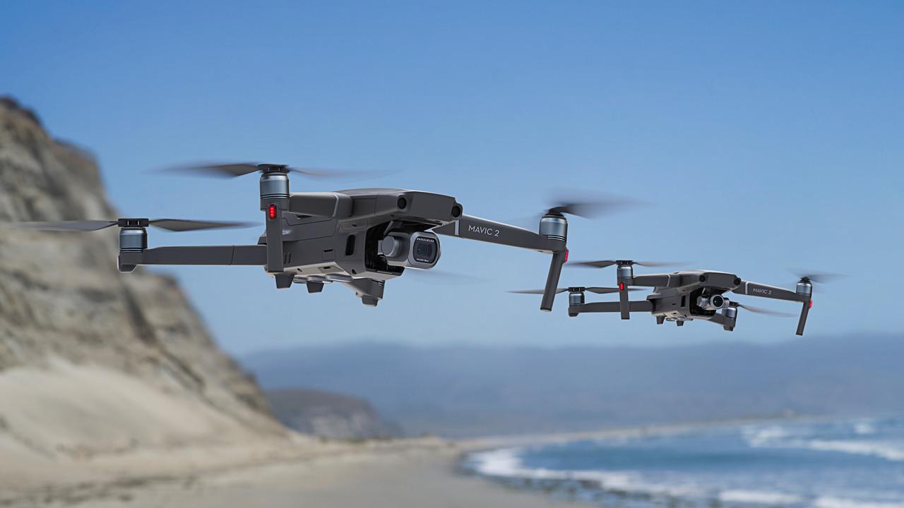 Hosentaschen-Drohne: DJI Mavic 2 mit Hasselblad-Kamera oder optischem Zoom