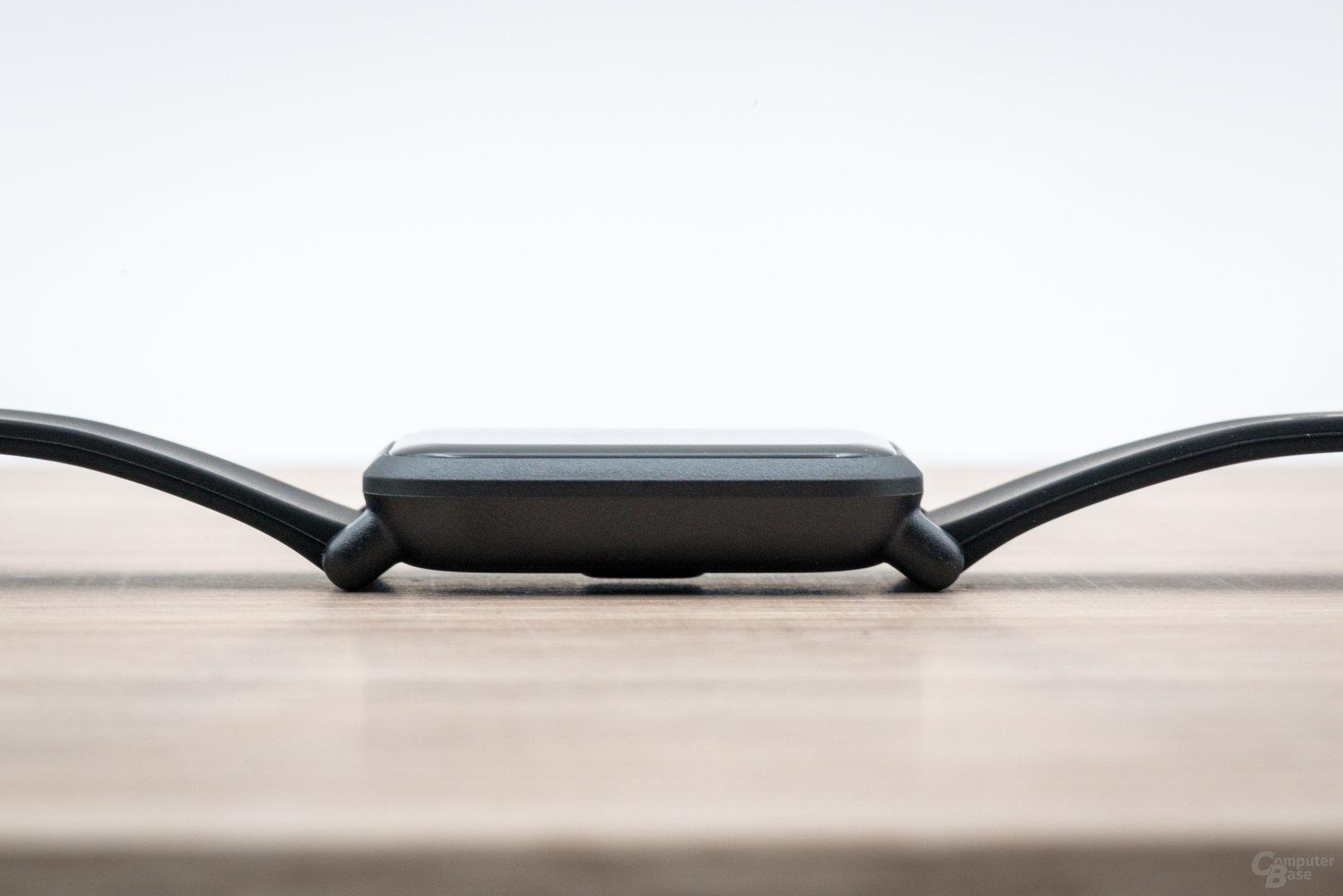 Xiaomi Amazfit Bip im Test: Höhe von 9 mm