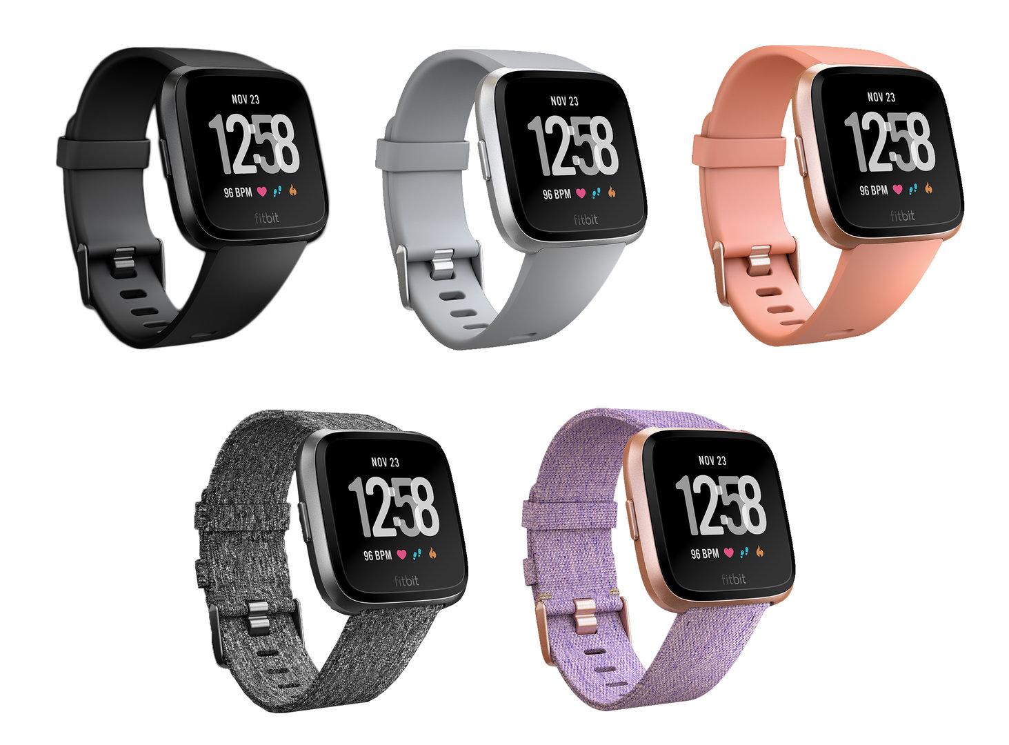 Fitbit Versa: Modelle