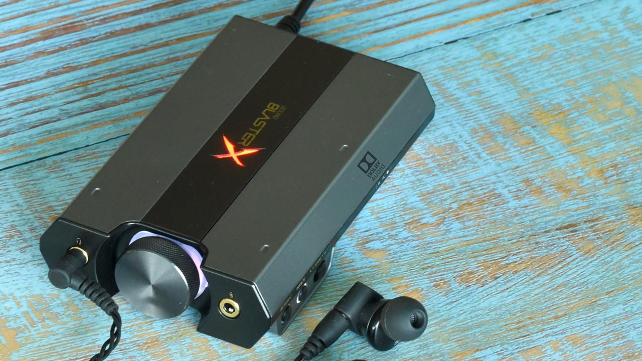 Sound BlasterX G6: Externe Soundkarte mit Bi-Amp auch für Nintendo Switch