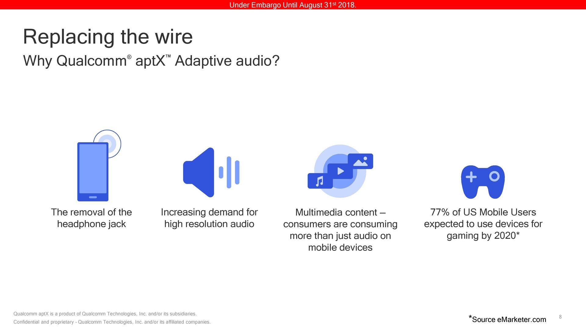 Wofür wird aptX Adaptive benötigt?