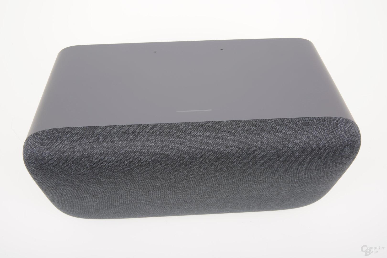 Touch-Bedienfläche an der Oberseite