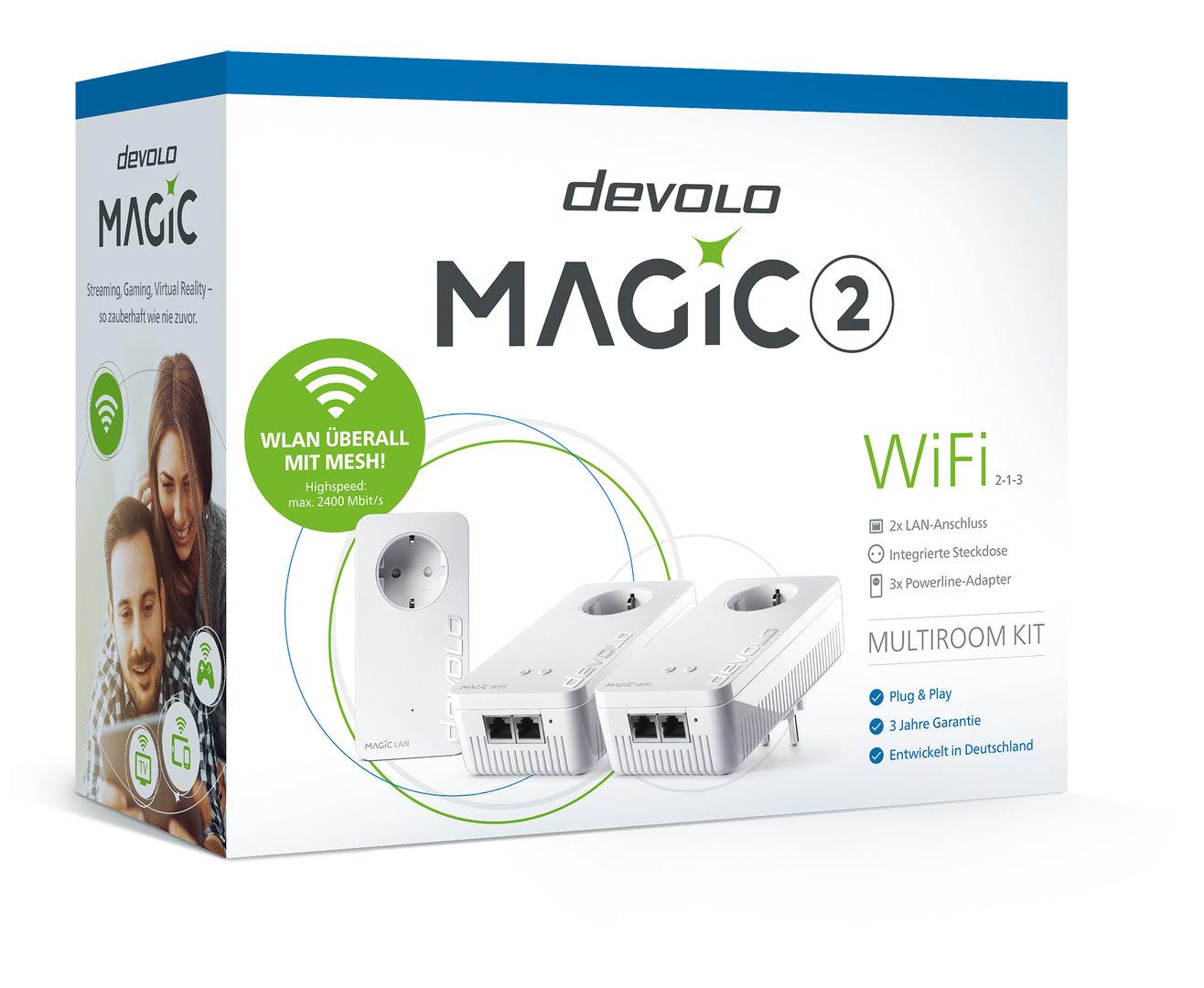 Devolo Magic 2 WiFi Multiroom-Kit