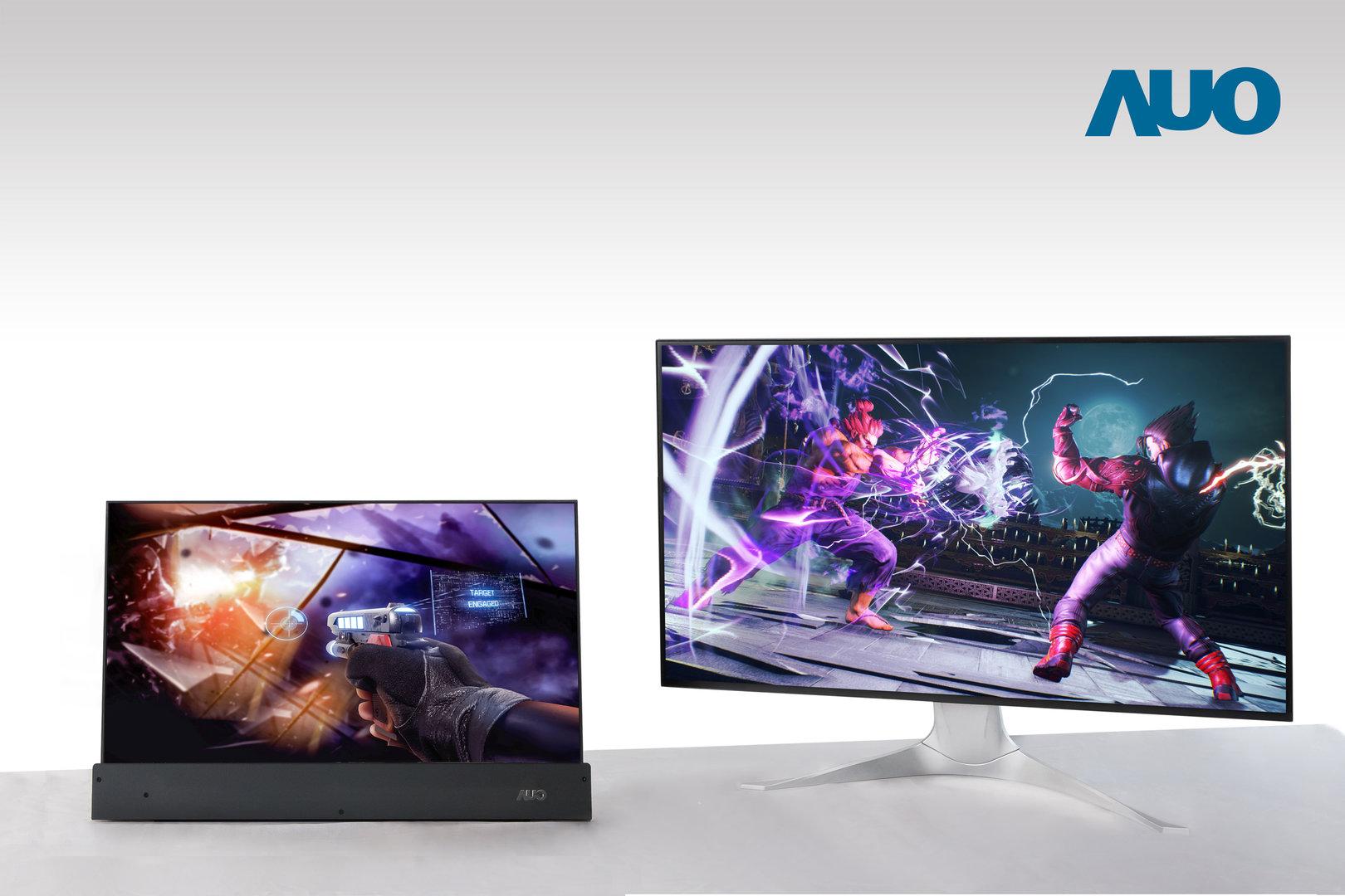 Displays mit 144 Hz fürs Notebook und 240 Hz für Desktop-Monitor