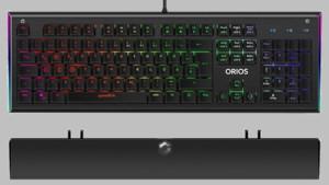 Speedlink Orios: Optomechanische Tastatur und Maus mit RGB für Spieler