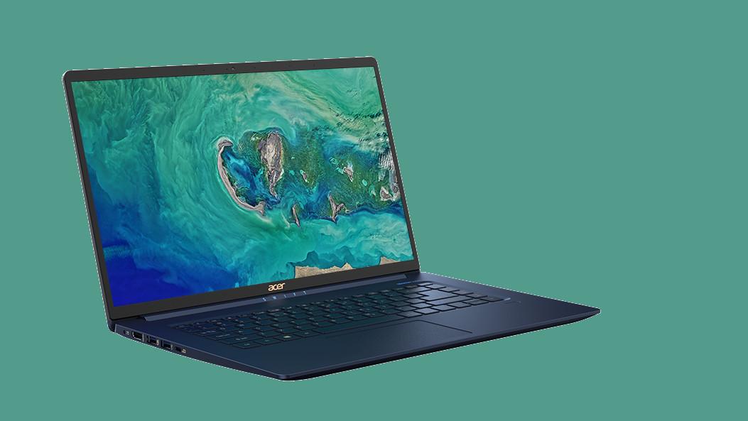 Acer Swift 5: Das leichteste Notebook mit 15 Zoll wiegt 990 Gramm