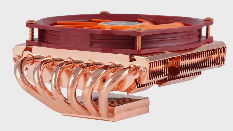 Thermalright: Top-Blow-Kühler AXP-100 setzt zum Jubiläum auf Kupfer