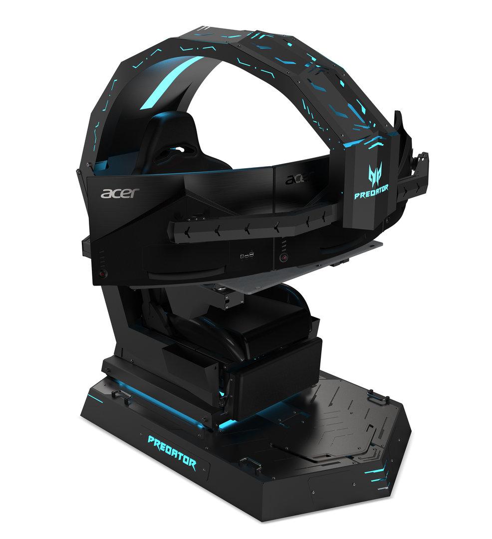 Ein Thron für Spieler: Acer Predator Thronos