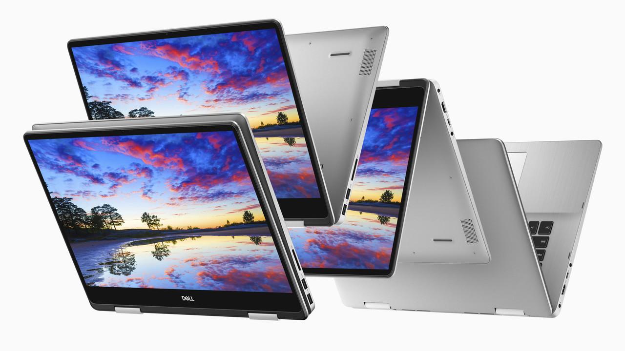 Dell Inspiron 5000 und 7000: 2-in-1s in 13, 14, 15 und 17 Zoll und neue XPS-13-CPUs