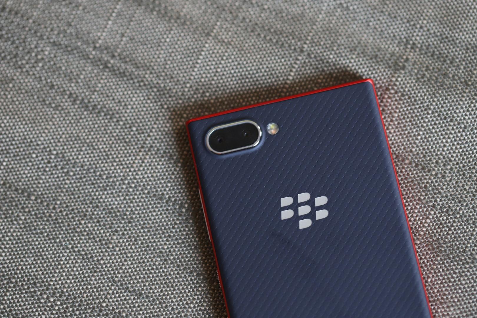 BlackBerry Key2 LE mit angepasster Dual-Kamera